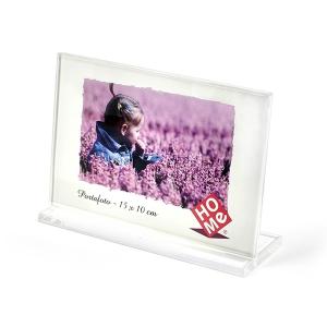 HOME Pack 6 Frames Horizontal Acrylic Plastic 15X10 Exclusive Italian Design