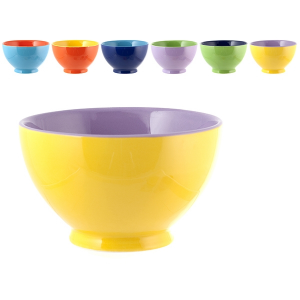 HOME Pack 6 Ceramic Bowl Samba Cc570 Bowls Exclusive Brand Design Made in Italy