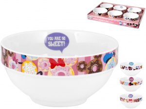 HOME Pack 6 Bowl Disney Bowls Exclusive Brand Design Made in Italy