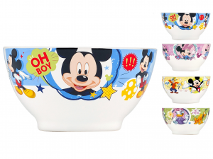 HOME Pack 6 Bowl Mickey Funny Cc630 Bowls Exclusive Brand Design Made in Italy