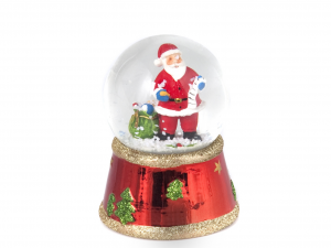 HOME Pack 6 Christmas Ball With Assorted Snow 6.5 Holidays Decorations
