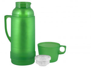 HOME Pack 6 Thermos Transparent colors Camping Picnic Garden Top Italian Brand