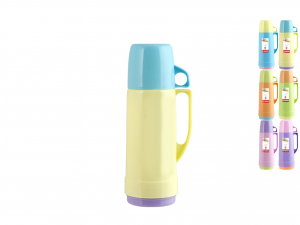 HOME Pack 6 Thermos Colors Lt 0.25 Camping Picnic Exclusive Italian Design Brand