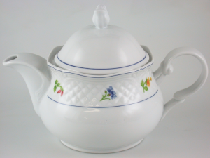 HOME Porcelain Teapot Handle Teresa Lt1.4 Breakfast Exclusive Italian Design