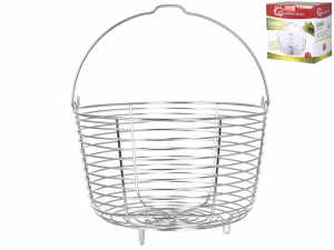 LAGOSTINA Basket For Pressure Cooker Stainless Steel Kitchen Size3 7L Italy