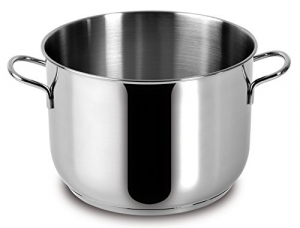 LAGOSTINA Pot Saucepan In Stainless Stell Every Kitchen 24Cm Top Italian Brand