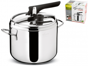 LAGOSTINA Pressure cooker Irradial control lt.7 Pots preparation Italian Style