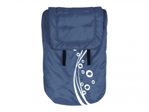 LULABI Blue Bag For Stroller Nursery Baby Exclusive Brand Design Made in Italy