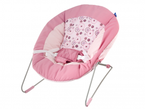 LULABI Bouncer Rebecca Pink Bedroom Baby Exclusive Brand Design Made in Italy