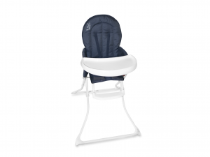 LULABI Sammy Blue Highchair Nursery Baby Exclusive Brand Design Made in Italy