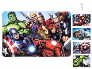 LULABI Pack 12 Polypropylene Avengers Plaque L Exclusive Italian Design Brand