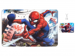 LULABI Pack 12 Polypropylene Spiderman Placemat Exclusive Italian Design Brand