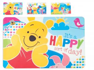 LULABI Pack 12 Placemats Polypropylene Disney Winnie Baby Textiles Italian Style