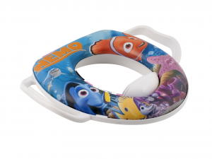 LULABI Pack 2 Disney Nemo Reducers Wc Toilet Seats With Handle Bathroom Italy