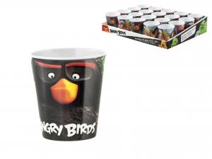 LULABI Pack 20 Glasses Melamine Angry Birds Cl19 Exclusive Italian Design Brand