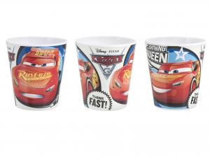 LULABI Pack 20 Bicchieri Melamina Disney Cars3 19 cl Exclusive Italian Design