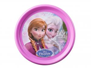 LULABI Pack 6 Polypropylene Plate Disney Frozen Piano 22,5 Top Italian Brand