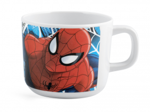 LULABI Pack 6 Cup Melamine Spiderman Cc220 Exclusive Brand Design Made in Italy