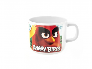 LULABI Pack 6 Cups Melamine Angry Birds Cl22 Exclusive Italian Design Brand