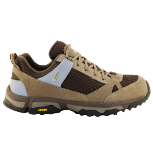 NWLITE Nordic Walking Shoes Man ACTIVE PRO VIBRAM Brown water resistant breathable