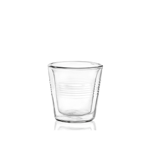 OFFICINE STANDARD Packaging 4 glasses borosilicate double duplex CL5 Italy