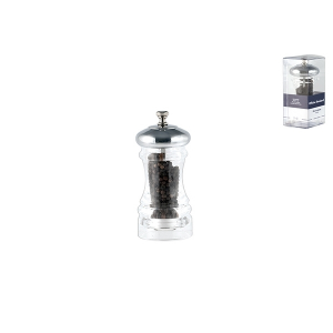 OFFICINE STANDARD Acrylic pepper mill with ceramic mechanism with pepper 11
