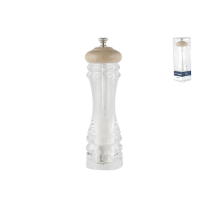 OFFICINE STANDARD Acrylic salt mill with ceramic mechanism with salt 20 Italy