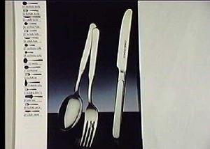 PINTI INOX Pack 12 Dessert Forks Inox Houses Kitchenware Top Italian Brand