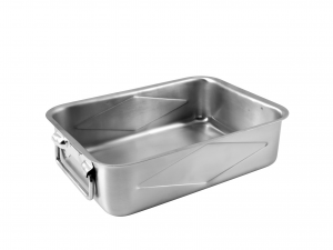 PINTI INOX Rectangular Inox Tray 25X18 House Exclusive Italian Design Brand