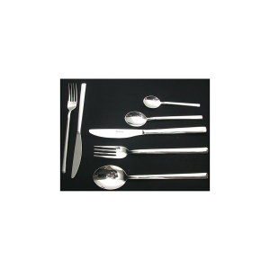 PINTI INOX Pack 12 stainless steel coffee spoons Synthesis  kitchen cutlery