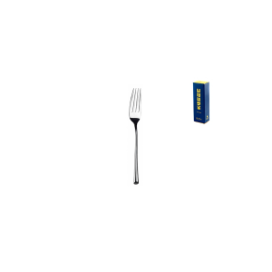 PINTI INOX Pack 12 stainless steel table forks Trumpet utensils kitchen cutlery