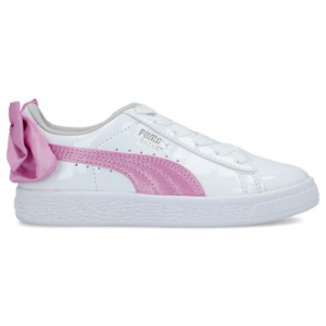 SNEAKERS PUMA BOW PATENT AC PS WHITE-ORCHID-GRAY 367622 02