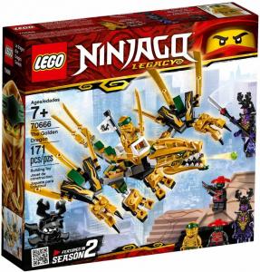 LEGO NINJAGO IL DRAGONE D'ORO V29 70666