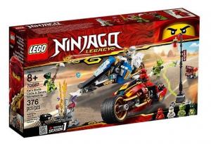 LEGO NINJAGO MOTO-LAMA DI KAI E MOTO-NEVE DI ZANE 70667