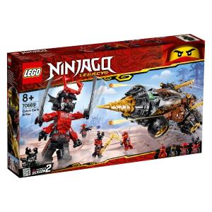 LEGO NINJAGO LA TRIVELLATRICE DI COLE 70669