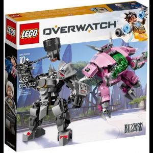 LEGO OVERWATCH D.VA E REINHARDT 75973