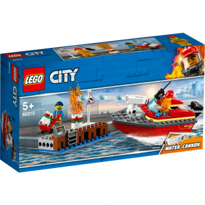 LEGO CITY FIRE INCENDIO AL PORTO 60213