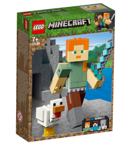 LEGO MINECRAFT MAXI-FIGURE DI ALEX CON GALLINA 21149