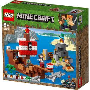 LEGO MINECRAFT AVVENTURA SUL GALEONE DEI PIRATI 21152