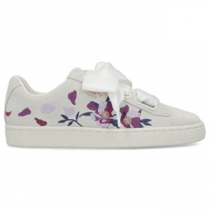 SNEAKERS PUMA HEART FLOWERY WN'S 367811 02 WHITE-ROSE GOLD