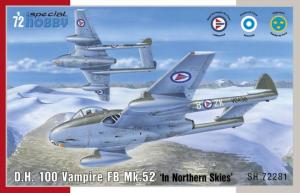 DH 100 Vampire FB Mk.52 ' In Northern Skies'