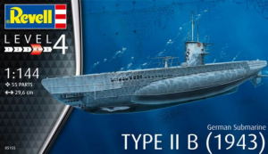German Submarine Type IIB
