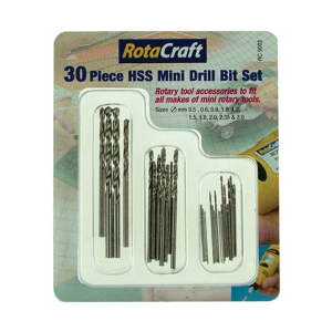 Mini drill bit set 30pcs
