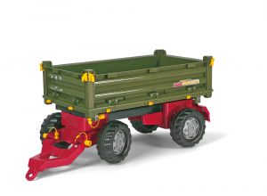 ROLLY TOYS ROLLY MULTITRAILER 2 ASSI RIBALTAMENTO MANUALE 125005