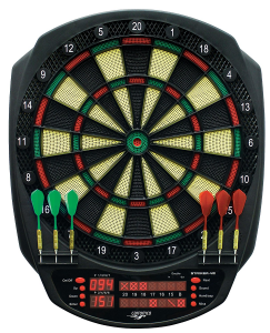 CARROMCO ELECTR. DARTBOARD - STRIKER-401 92445
