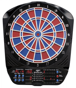 CARROMCO ELECTR. DARTBOARD - SCARA-701, 2row distance 92916