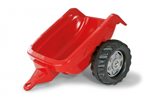 ROLLY TOYS ROLLYKID TRAILER RIMORCHIO ROSSO cod. 121717