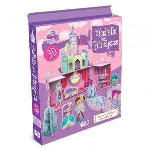 SASSI EDITORE IL CASTELLO DELLE PRICIPESSE 3D N. Fabris, I.Trevisan