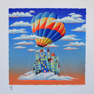 Meloniski - Trasloco - Serigrafia retouchè - Form. cm 70x70