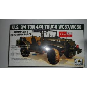 U.S.3/4 TON 4X4 TRUCK WC57/WC56 AFV CLUB